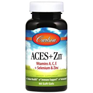 Витамины А, С, Е плюс селен и цинк, Aces, Carlson Labs