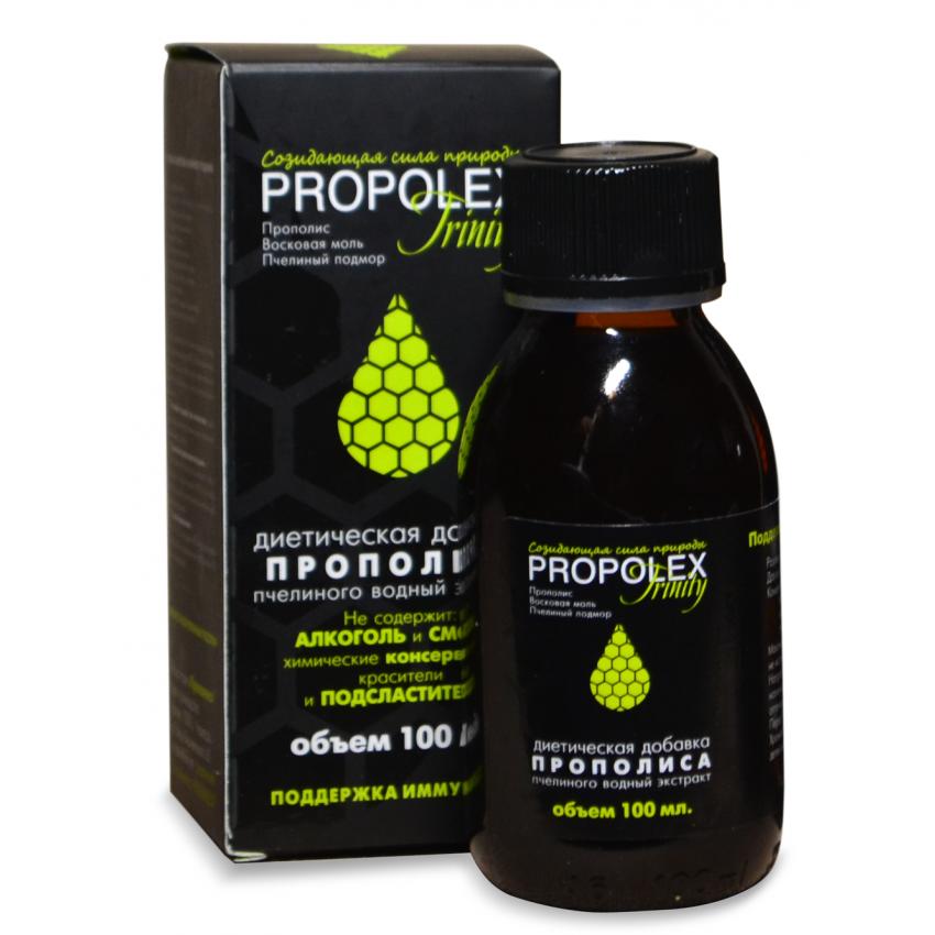 Водный раствор прополиса Propolex 20%, 100 мл.