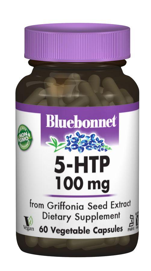 5-HTP (Гидрокситриптофан) 100 мг, Bluebonnet Nutrition