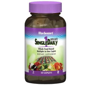 Мультивитамины с железом, Single Daily, Bluebonnet Nutrition