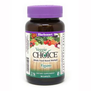 Мультивитамины для Вегетарианцев, Veggie Choice, Bluebonnet Nutrition
