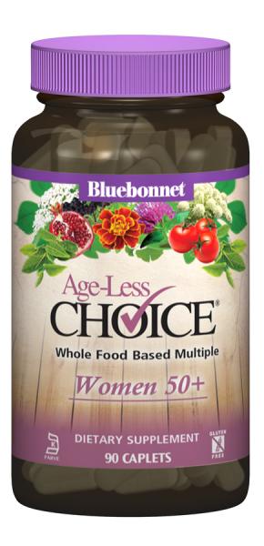 Женские Мультивитамины 50+, Ageless Choice, Bluebonnet Nutrition