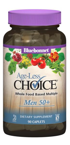 Мужские Мультивитамины 50+, Ageless Choice, Bluebonnet Nutrition