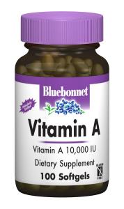 Витамин А 10000, Bluebonnet Nutrition