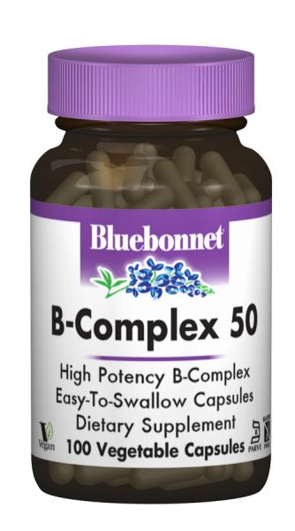 В-Комплекс 50, Bluebonnet Nutrition