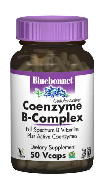 Коэнзим В-Комплекса, Cellular Active, Bluebonnet Nutrition, 50 гелевых капсул