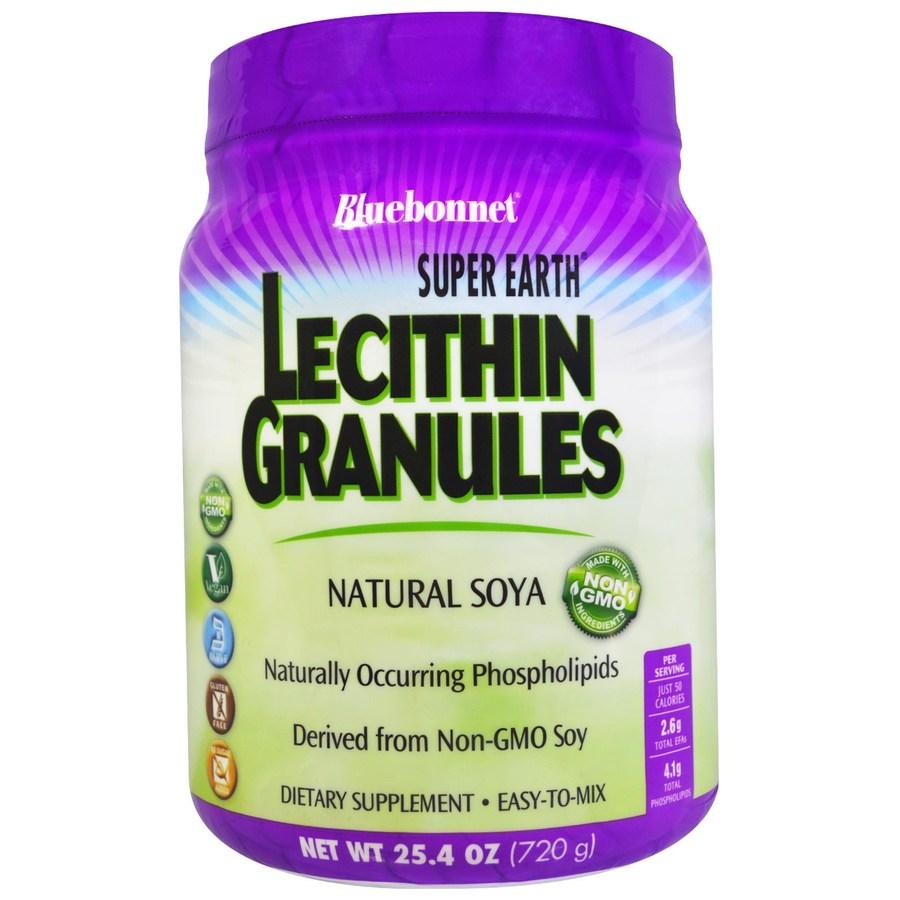 Гранулы лецитина, Super Earth, Bluebonnet Nutrition