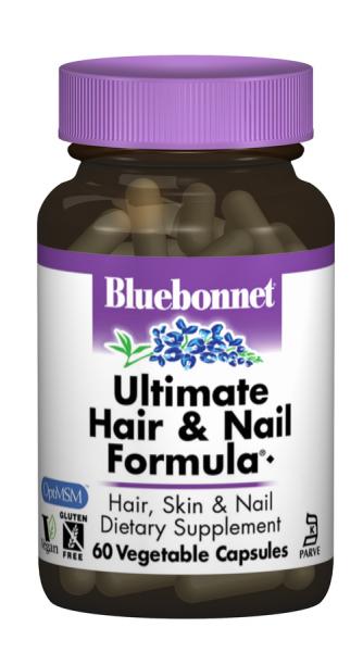 Формула для Волос и Ногтей, Bluebonnet Nutrition, 60 гелевых капсул