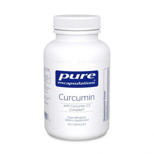 Куркумин, Curcumin, Pure Encapsulations, 250 мг, 60 капсул