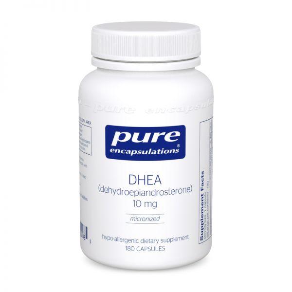 ДГЭА, DHEA, Pure Encapsulations, 10 мг