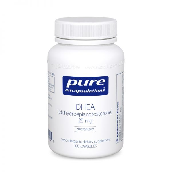 ДГЭА, DHEA, Pure Encapsulations, 25 мг
