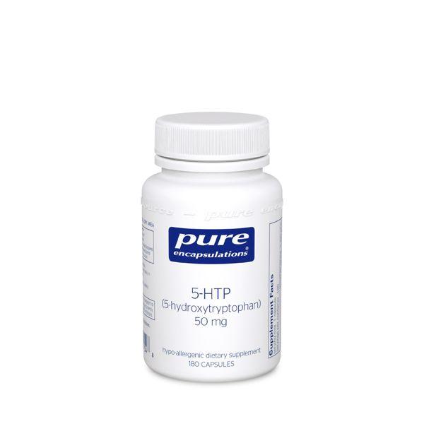 5-HTP (5-Гидрокситриптофан), Pure Encapsulations, 50 мг