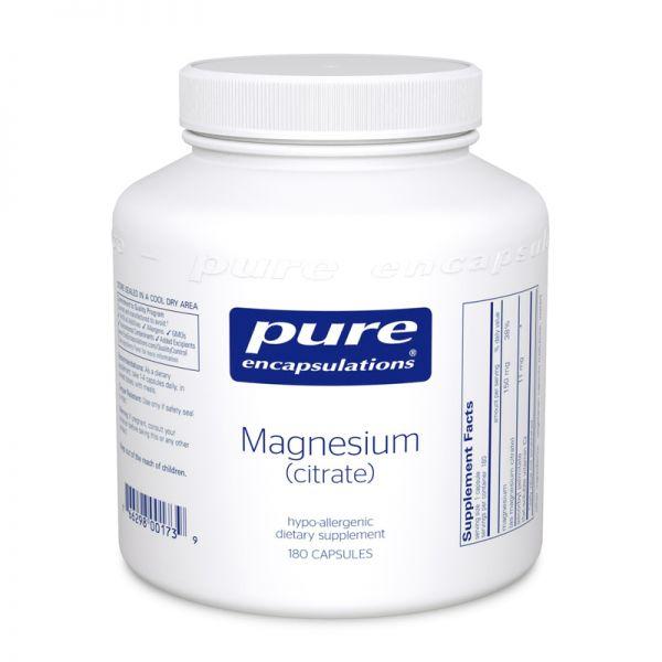 Магний (цитрат), Magnesium (citrate), Pure Encapsulations