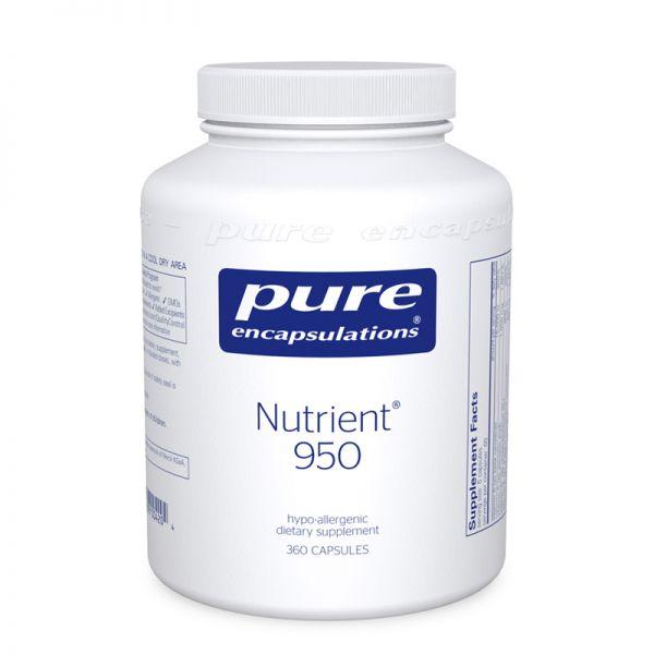 Мультивитамины / минералы, Nutrient 950, Pure Encapsulations