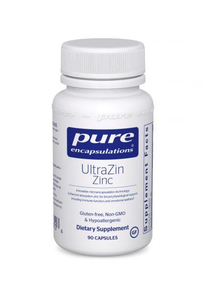 Цинк, Zinc, Pure Encapsulations, 30 мг, 60 капсул