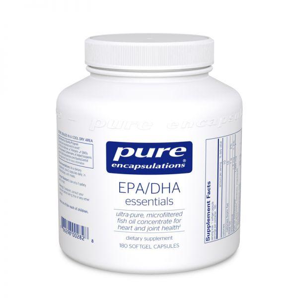 Основные ЭПК/ДГК, EPA/DHA essentials, Pure Encapsulations