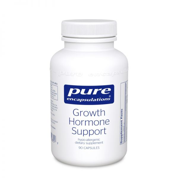 Поддержка гормонов роста, Growth Hormone Support, Pure Encapsulations