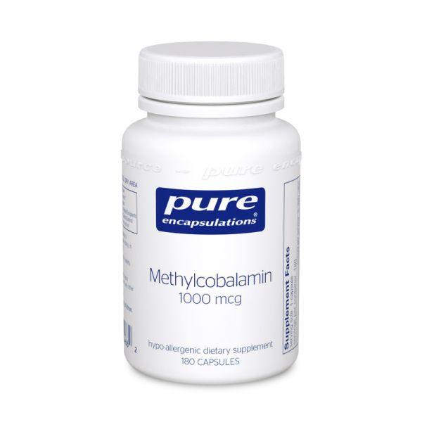 Витамин В12 метилкобаламин, Methylcobalamin Advanced Vitamin B12, Pure Encapsulations, 60 капсул