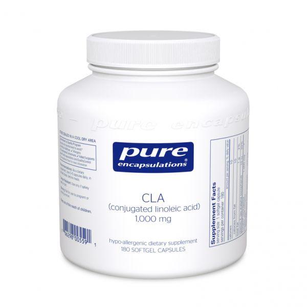 Конъюгированная линолевая кислота, CLA, Pure Encapsulations, 1000 мг, 60 капсул