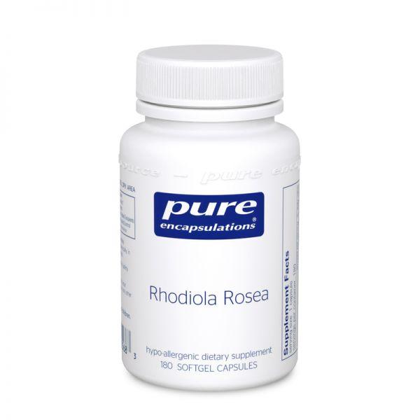 Родиола розовая, Rhodiola Rosea, Pure Encapsulations, 90 капсул