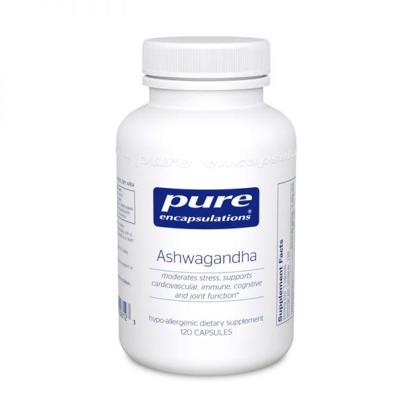 Ашвагандха, Ashwagandha, Pure Encapsulations