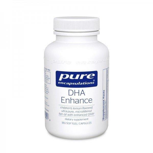 ДГА усиленная, DHA Enhance, Pure Encapsulations, 180 капсул