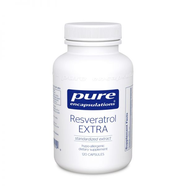 Ресвератрол, Resveratrol, Pure Encapsulations, 120 капсул