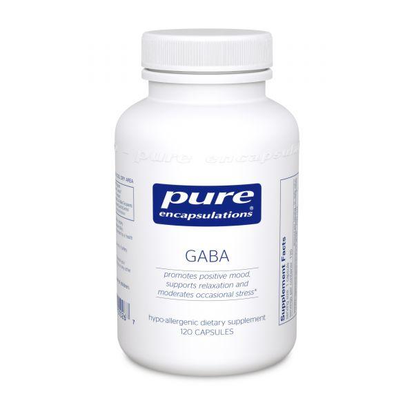 ГАМК, GABA, Pure Encapsulations