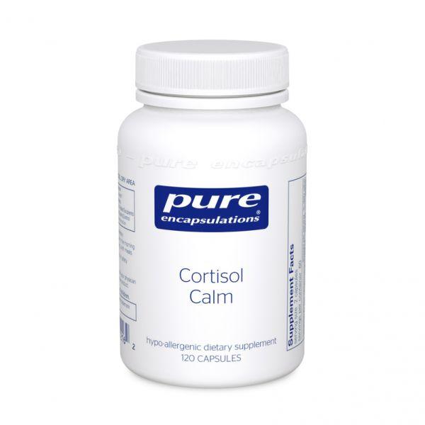 Кортизол, Cortisol Calm, Pure Encapsulations, 120 капсул
