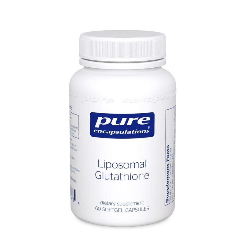 Липосомальный Глутатион, Liposomal Glutathione, Pure Encapsulations, 30 капсул