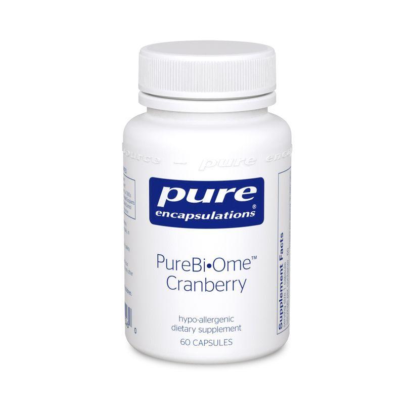Клюква (смесь пробиотиков), PureBi•Ome Cranberry, Pure Encapsulations, 60 капсул