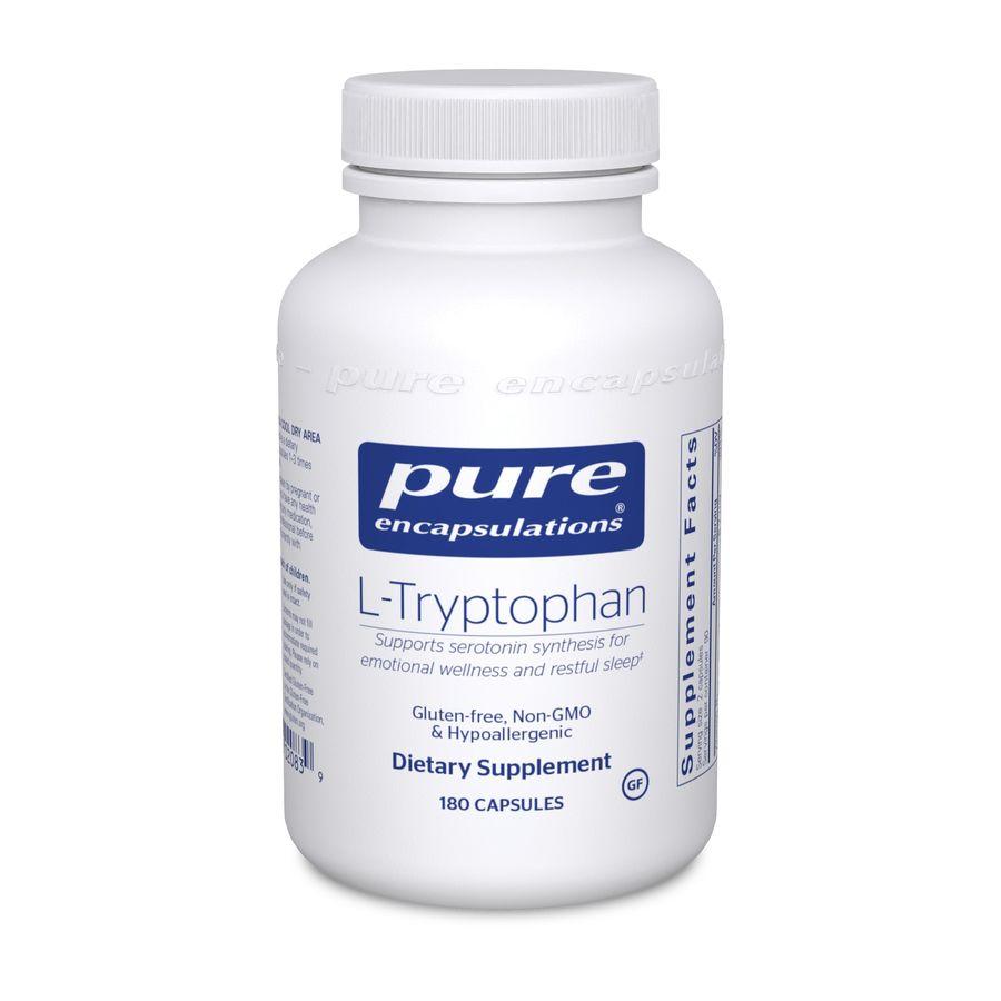 L-триптофан, l-Tryptophan, Pure Encapsulations