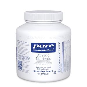 Мультивитаминно-минеральный комплекс для тренировок, Athletic Nutrients, Pure Encapsulations, 180 капсул
