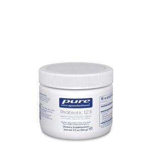 Пробиотики для детей, Probiotic 123, Pure Encapsulations, 60 гр.