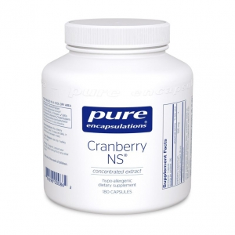Клюква NS, Cranberry NS, Pure Encapsulations, 180 капсул