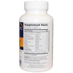 Пробиотики + ферменты,  Digest Gold + Probiotics, Enzymedica, 180 кап