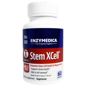Ферменты для мозга,  Stem Xcell, Enzymedica, 60 кап.