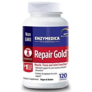 Серрапептаза для суставов, Repair Gold, Enzymedica, 120 кап.