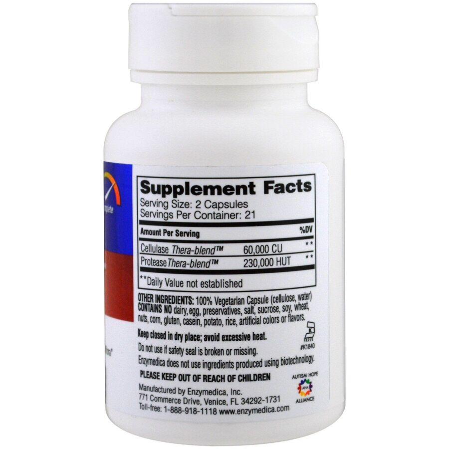 Противокандидное средство, Candidase, Enzymedica, 42 капсулы