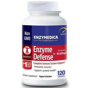 Ферменты , Enzymedica, ViraStop, 120 капсул
