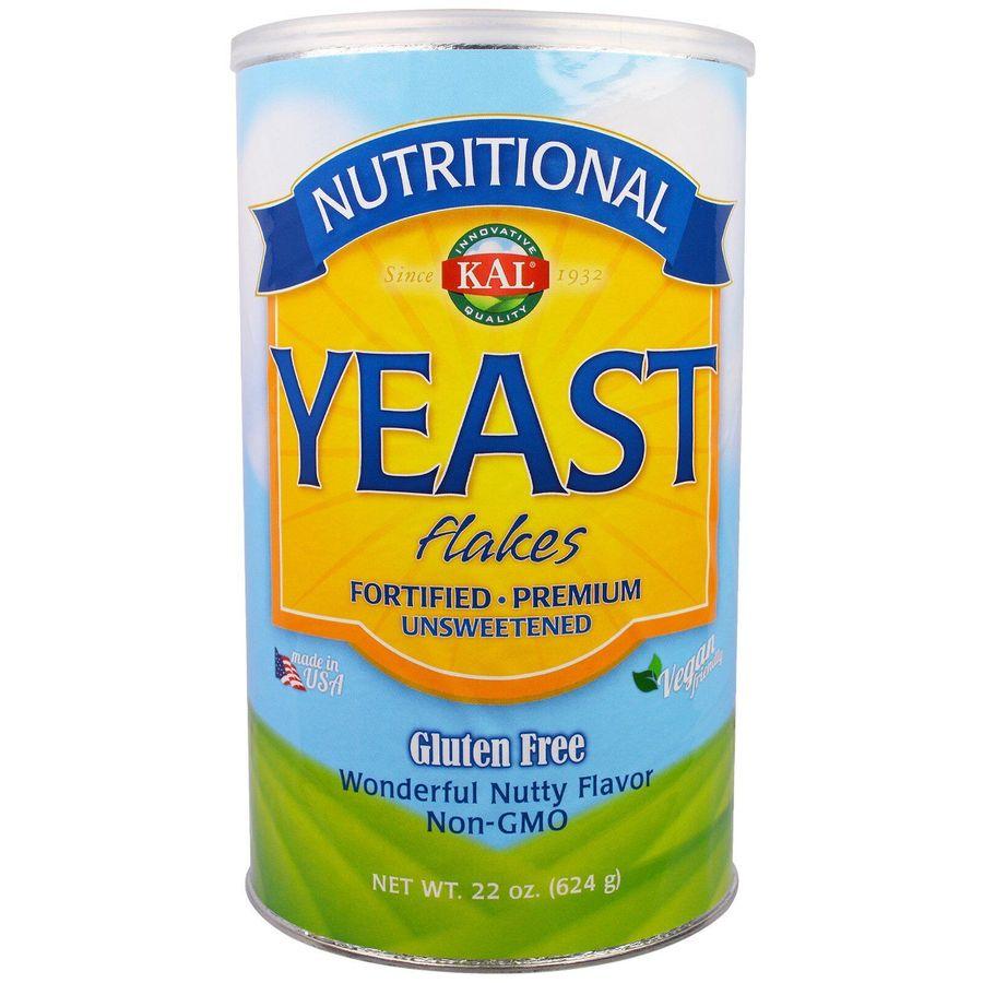 Дрожжи хлопьями, Yeast Flakes, KAL