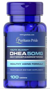 ДГЭА, Дегидроэпиандростерон, DHEA, Puritan's Pride, 50 мг, 100 таблеток