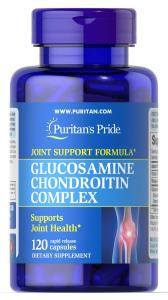 Глюкозамин хондроитин, Glucosamine Chondroitin Complex, Puritan's Pride
