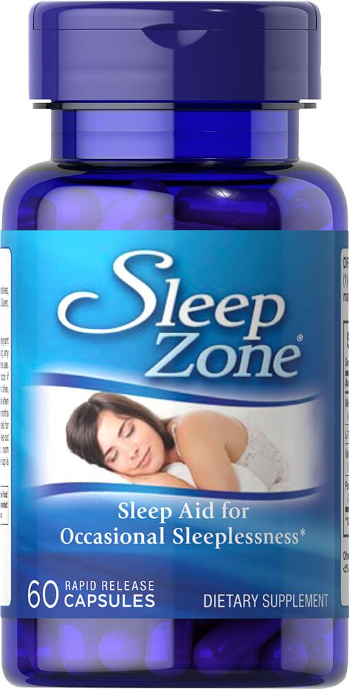 Комплекс для сна Sleep Zone, Puritan's pride, 60 капсул