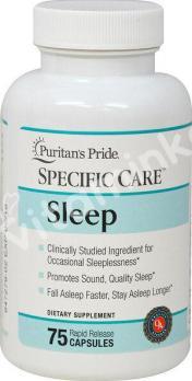 Комплекс для сна, Puritan's pride, 75 капсул