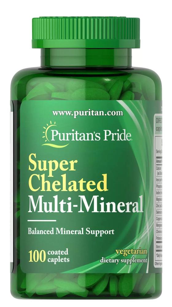 Комплекс минералов, Puritan's pride, 100 капсул