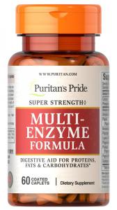 Комплекс ферментов, Super Strength Multi Enzyme, Puritan's pride