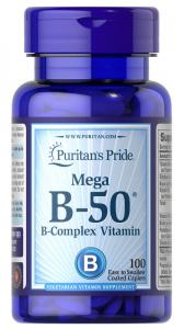 Витамины В-50, Puritan's pride