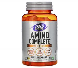Амино комплекс, Amino Complete, Now Foods, Sports