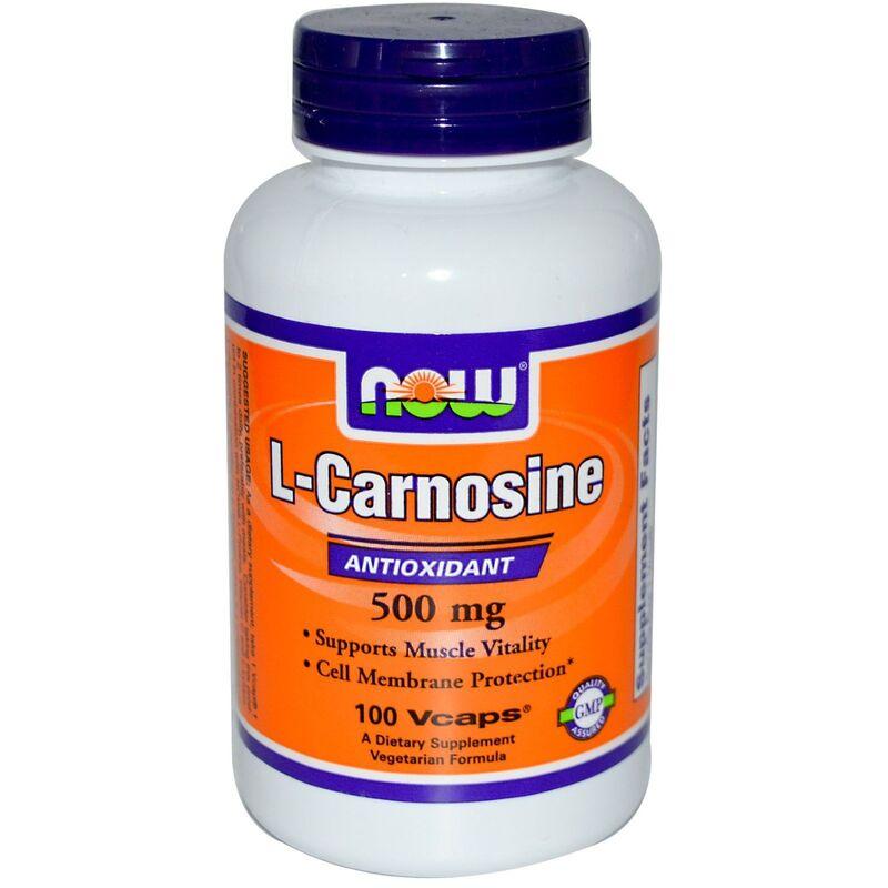 Карнозин, L-Carnosine, Now Foods, 500 мг